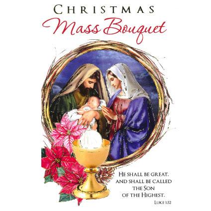 Christmas Mass Bouquet